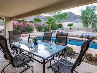 NEW LISTING! Spacious home w/private pool & hot tub, covered patio