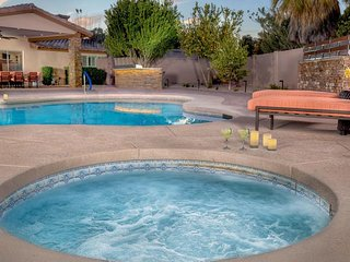 NEW LISTING! Comfortable home w/pool & hot tub, on one acre near golf & trails