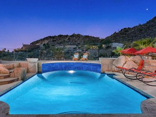 NEW LISTING! Resort-style home on acre w/pool, mtn/city views - on-site golf