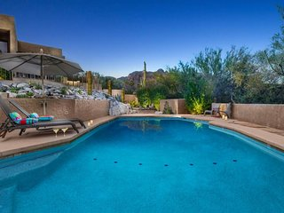 NEW LISTING! Elegant home w/ private pool and hot tub, close to golf and more!