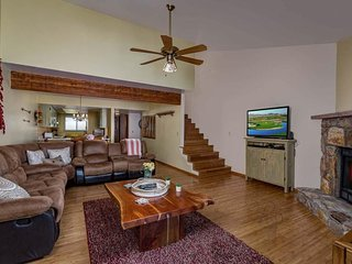 NEW LISTING! Dog-friendly townhome with a shared pool and tennis courts!