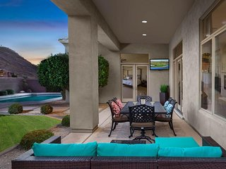 NEW LISTING! Beautiful home w/ pool - mountain/desert views, gated community!