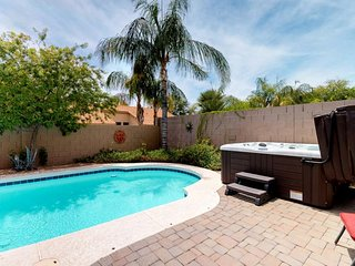 NEW LISTING! Stunning, spacious home w/backyard oasis - private pool & hot tub
