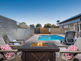 NEW LISTING! Desert charmer w/ private pool, hot tub & dog friendly!