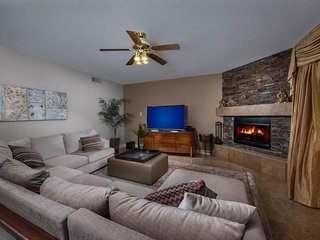 NEW LISTING! Lavish home w/backyard oasis-private pool, furnished patio, firepit