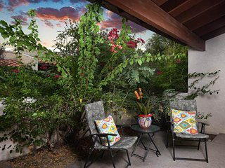 NEW LISTING! Corner condo in beautiful community w/shared pool & two patios