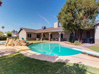 NEW LISTING! Spacious home w/private pool, outdoor firepit, right near Old Town!