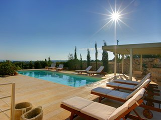 4 bedroom Villa in Mousata, Ionian Islands, Greece : ref 5248681