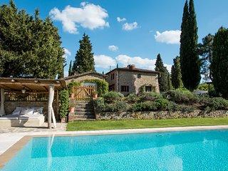 4 bedroom Villa in Montebenichi, Tuscany, Italy : ref 5247749