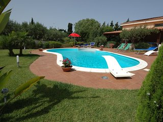 4 bedroom Villa in Chiesanuova, Sicily, Italy : ref 5247451