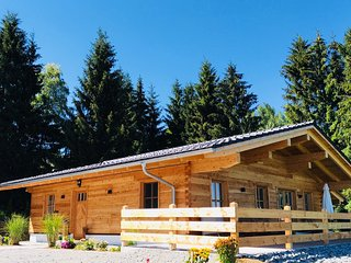 Neues exklusives Wohlfühl-Chalet mit Whirlpool und Sauna im Bayerischen Wald