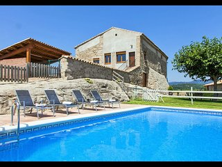 8 bedroom Villa in Sagas, Catalonia, Spain : ref 5622287