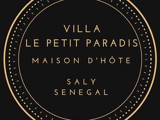 Maison d'Hote Villa Le Petit Paradis Saly Locations Boungalows + Service Resto