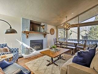 NEW! Vail Condo w/Deck - Under 1 Mile to the Mtn!