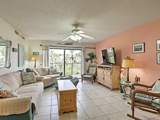 NEW! St. Augustine Resort Condo Steps from Beach!