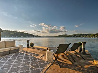 NEW-Waterfront Harveys Lake House w/Boat Slip&Dock