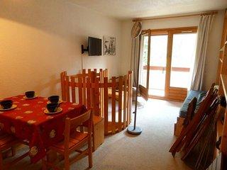 Appartement 2 pièces 4 personnes agréablement situé à Val d'Isère à 350m du cent