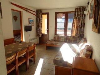 Appartement 2 pièces Cabine 6 personnes à Val d'isère à 350m du centre du villag