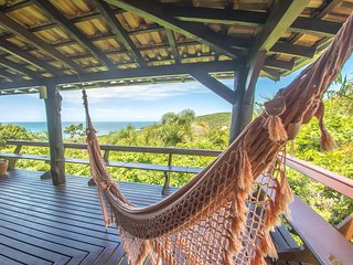 Praia Rosa, SC , Brazil - Cozy House on the Beach with Beautiful Views and Fully Equipped