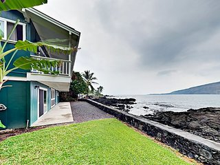 Oceanfront 3BR Kealakekua Bay Retreat w/ Breathtaking Views from Every Room