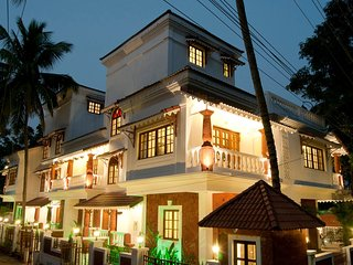 ZONDELA INN Saligao Private Pool Villa 4 BHK