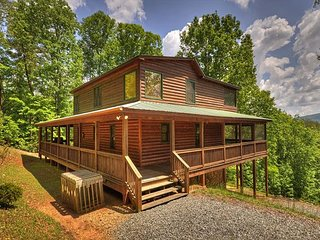 Enjoy a Peaceful Stay at Quiet Thunder in the North Georgia Mountains