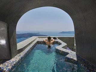 Cave Villa, Caldera View, Heated Plunge Pool