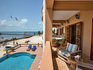 Beautiful 2nd floor oceanfront condo with amazing views & breezes! 3 pools!