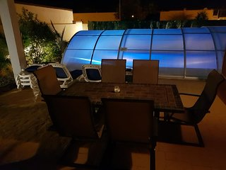 Night Time Patio