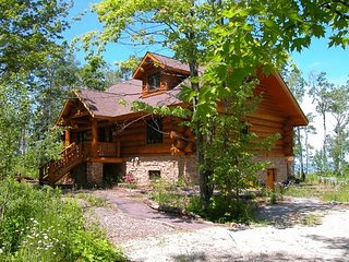 Vacation Log Home On Lake Superior