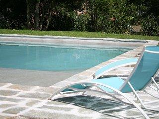 Farniente entre mer et maquis avec piscine (4pers)