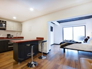 Studio Apartment good AC, Wifi and hot water Lleras