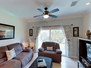 NEW LISTING! Contemporary seaside getaway w/shared pool & A/C-block to the beach