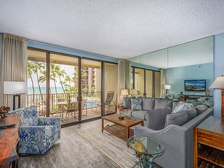 Can't get much Closer to the Ocean! - Kaanapali Shores 259- 2 Bedroom/2 Bath