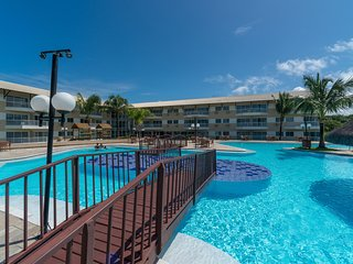 MRP 301 Pleasant flat with balcony and two bedrooms on the paradisiacal beach of