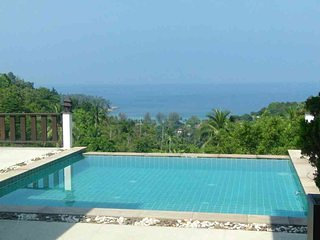 Sky Villa/private Pool Villa with fantastic Sunset, Ocean View