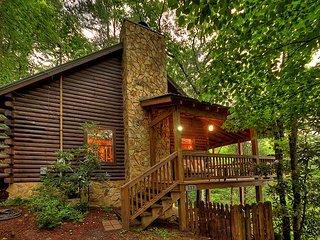Sandy's Mountain Maison - Mountain View Log Cabin, Hot Tub!