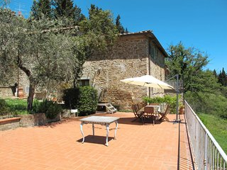 4 bedroom Apartment in San Polo in Chianti, Tuscany, Italy : ref 5642536