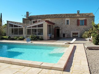 4 bedroom Villa in Les Buissonnades, Provence-Alpes-Cote d'Azur, France : ref 56