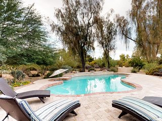 NEW LISTING! Stylish home with private pool & terrace, near Old Town Scottsdale!