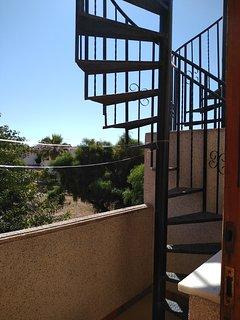 Escaleras acceso a solarium