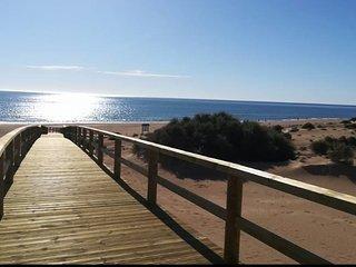 Acceso peatonal a la playa
