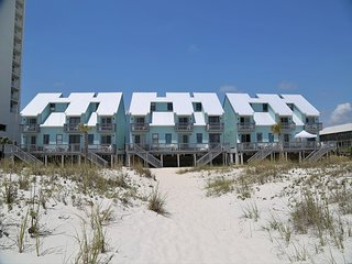 Ocean Reef 802 ~ Gulf Front Town House ~ Walk from your deck to the beach~ FREE