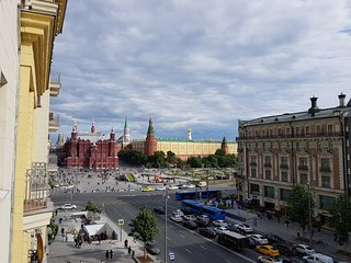 Red Square View Apartment Moscow