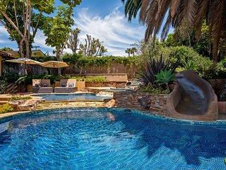 Gorgeous Carlsbad Dream Home with Pool, Kiddie Pool, Water Slide & More!