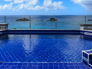 Villa Sky Vista | Ocean Front :: Located in  Wonderful Gustavia with Private Poo
