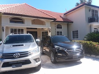 6 bedrooms -Luxury Villa V- 3 minutes from beach