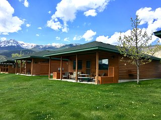 Yellowstone Riverside Cabin - just outside Yellowstone National Park.