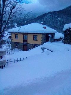 Apartamentos Caloca en invierno