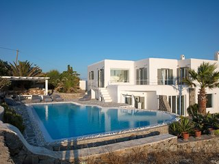 Villa Aristotle new minimal design villa on Mykonos, Aleomandra superb location